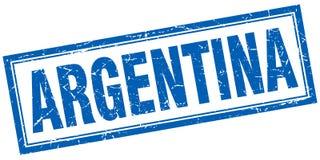Timbre de l'Argentine illustration stock