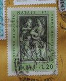 Timbre de l'Italie Photos stock