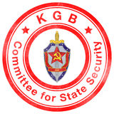 Timbre de l'URSS Images libres de droits