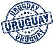 Timbre de l'Uruguay illustration de vecteur