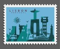 Timbre de Lisbonne Portugal photos stock
