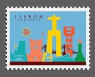 Timbre de Lisbonne Portugal photos libres de droits