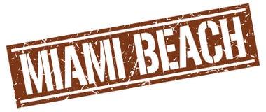 Timbre de Miami Beach Image libre de droits