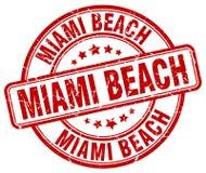 Timbre de Miami Beach Photographie stock