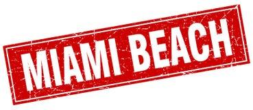 Timbre de Miami Beach Illustration Stock
