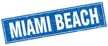 Timbre de Miami Beach Illustration Libre de Droits