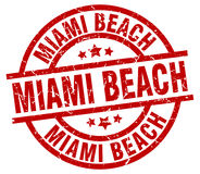 Timbre de Miami Beach Photo stock