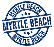 Timbre de Myrtle Beach Photographie stock libre de droits