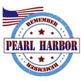 Timbre de Pearl Harbor Image libre de droits
