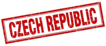 Timbre de République Tchèque illustration libre de droits
