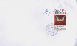 Timbre de République Tchèque Photos stock