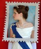 Timbre de reine d'Angleterre Image stock