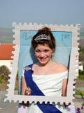 Timbre de reine d'Angleterre Photographie stock libre de droits