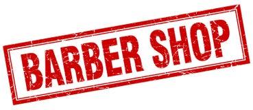 Timbre de salon de coiffure illustration libre de droits