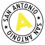 Timbre de San Antonio illustration libre de droits