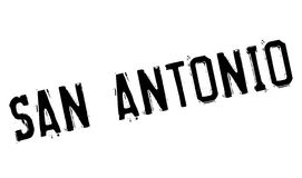Timbre de San Antonio illustration de vecteur