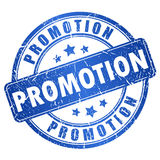 Timbre de vecteur de promotion Photos stock