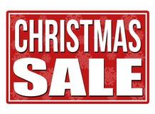 Timbre de vente de Noël Photos libres de droits