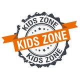 Timbre de zone d'enfants Photographie stock libre de droits