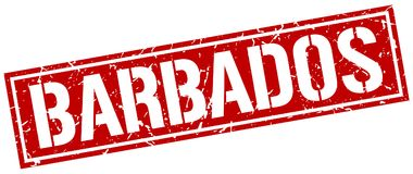 Timbre des Barbade Images stock