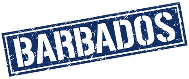 Timbre des Barbade Images libres de droits