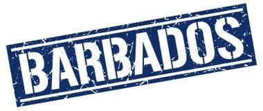 Timbre des Barbade Photos libres de droits