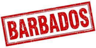 Timbre des Barbade illustration libre de droits