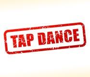 Timbre des textes de danse de robinet Photos libres de droits