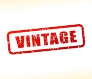 Timbre des textes de vintage Images libres de droits