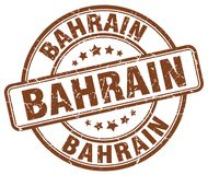 Timbre du Bahrain illustration stock