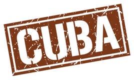 Timbre du Cuba illustration stock