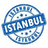 Timbre en caoutchouc de vecteur d'Istanbul Image libre de droits