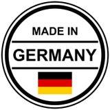 timbre fabriqué en Allemagne Photos libres de droits