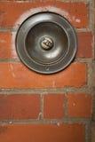 Timbre grande del botón Fotografía de archivo libre de regalías