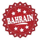 Timbre grunge du Bahrain Photographie stock