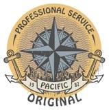 Timbre original Pacifique Image stock