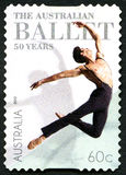 Timbre-poste australien de ballet Photos stock