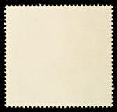 Timbre-poste blanc Photos stock