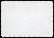 Timbre-poste blanc images libres de droits