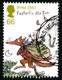 Timbre-poste BRITANNIQUE de Roald Dahl Photo stock