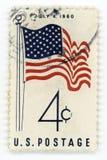 Timbre-poste de vintage Etats-Unis Images stock