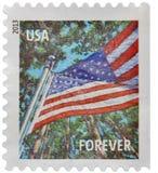 Timbre-poste des Etats-Unis Images libres de droits