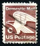 Timbre-poste domestique des USA de courrier de la catégorie C image stock