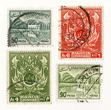 Timbre-poste 1960 du Pakistan Images stock