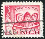 timbre-poste imprimé par Canada images libres de droits