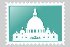 timbre-poste Venise Photo stock