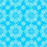 Timbre sans couture de flocon de neige de décorations de Noël de nouvelle année de modèle illustration libre de droits
