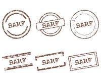 Timbres de Barf Photo stock