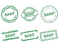 Timbres de Barf Illustration Stock