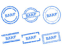 Timbres de Barf Illustration Libre de Droits